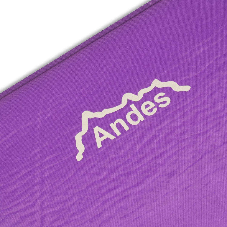 Andes Explora Matelas simple autogonflant 5 cm