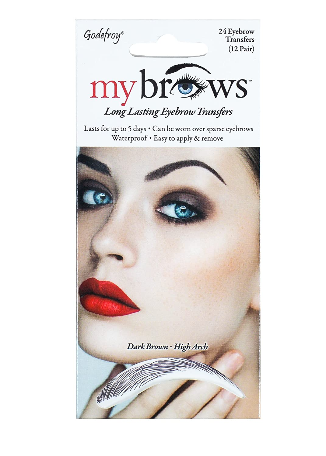 Amazon Godefroy Mybrows High Arch Eyebrow Tattoo Dark Brown 1