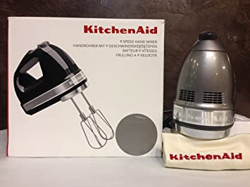 Kitchenaid 5KHM9212ECU - Batidora de mano, color plateado ...