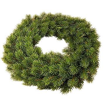 Weihnachtsdeko In Grün.Tannenkranz Für Advent Als Weihnachtsdeko Grün ø 40 Cm Künstlich Ohne Deko