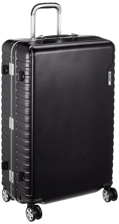 [アジアラゲージ㈱] ハードキャリー MAX SMART(マックススマート) 手荷物預け可能サイズ82L ダイヤル式ロック 静音キャスター 82L 75cm 5.2kg MS-205-29 B07B2X6TPHブラック