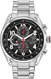 Citizen Eco-Drive Black Dial Stainless Steel Men's Watch CA0368-56E