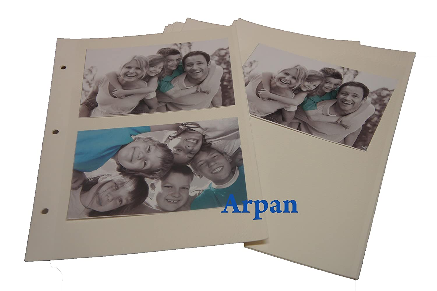 Arpan Self Adhesive 20 Sheets/40 Sides Refill For Ring Binder Photo Album CL-6804