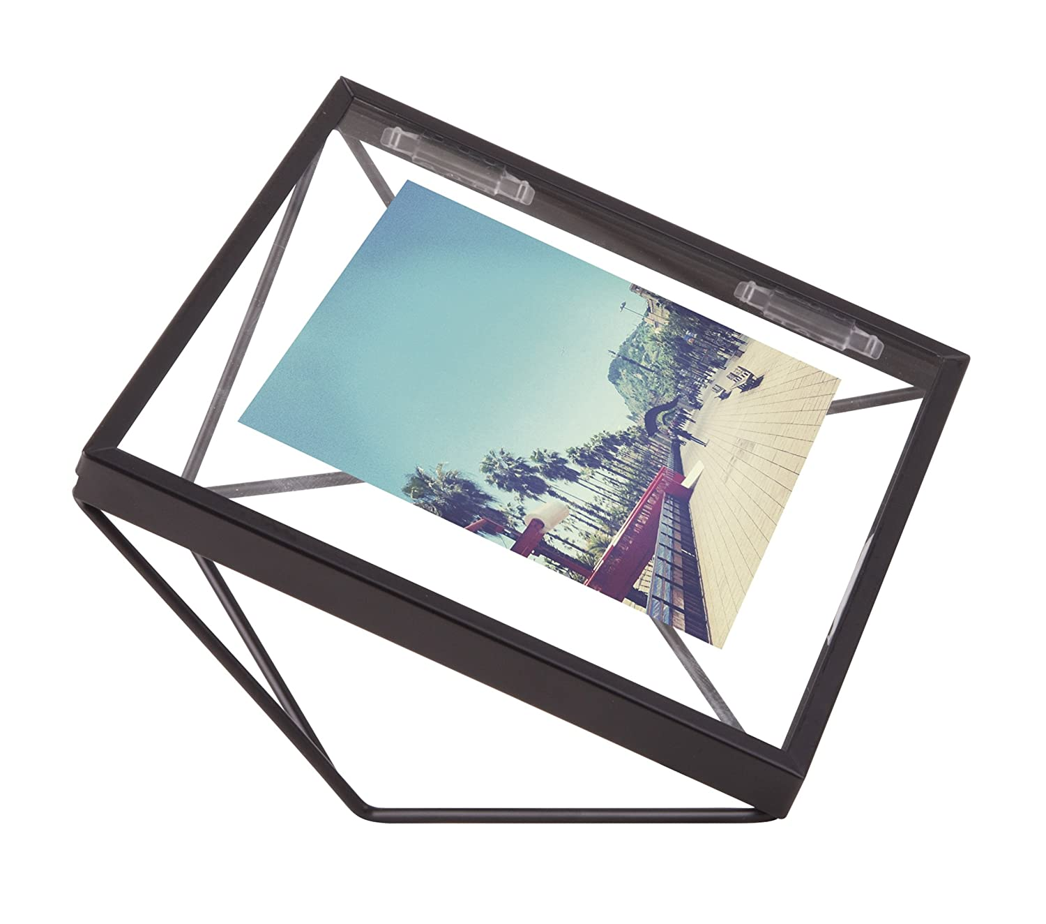 Amazon.com - Umbra Prisma Picture Frame, 4 by 4-Inch, Black -