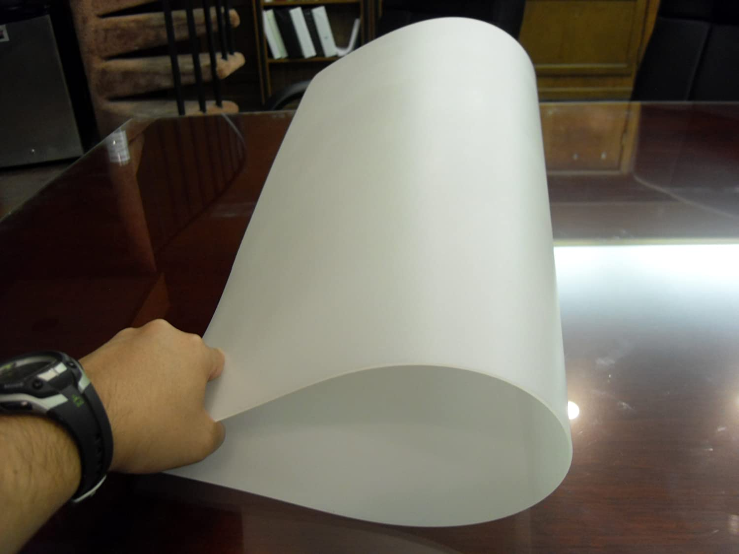 1 Thick Flexible Lightweight 24x24x1/16 Translucent Polyethylene Plastic Stencil Template Sheet 4336894133