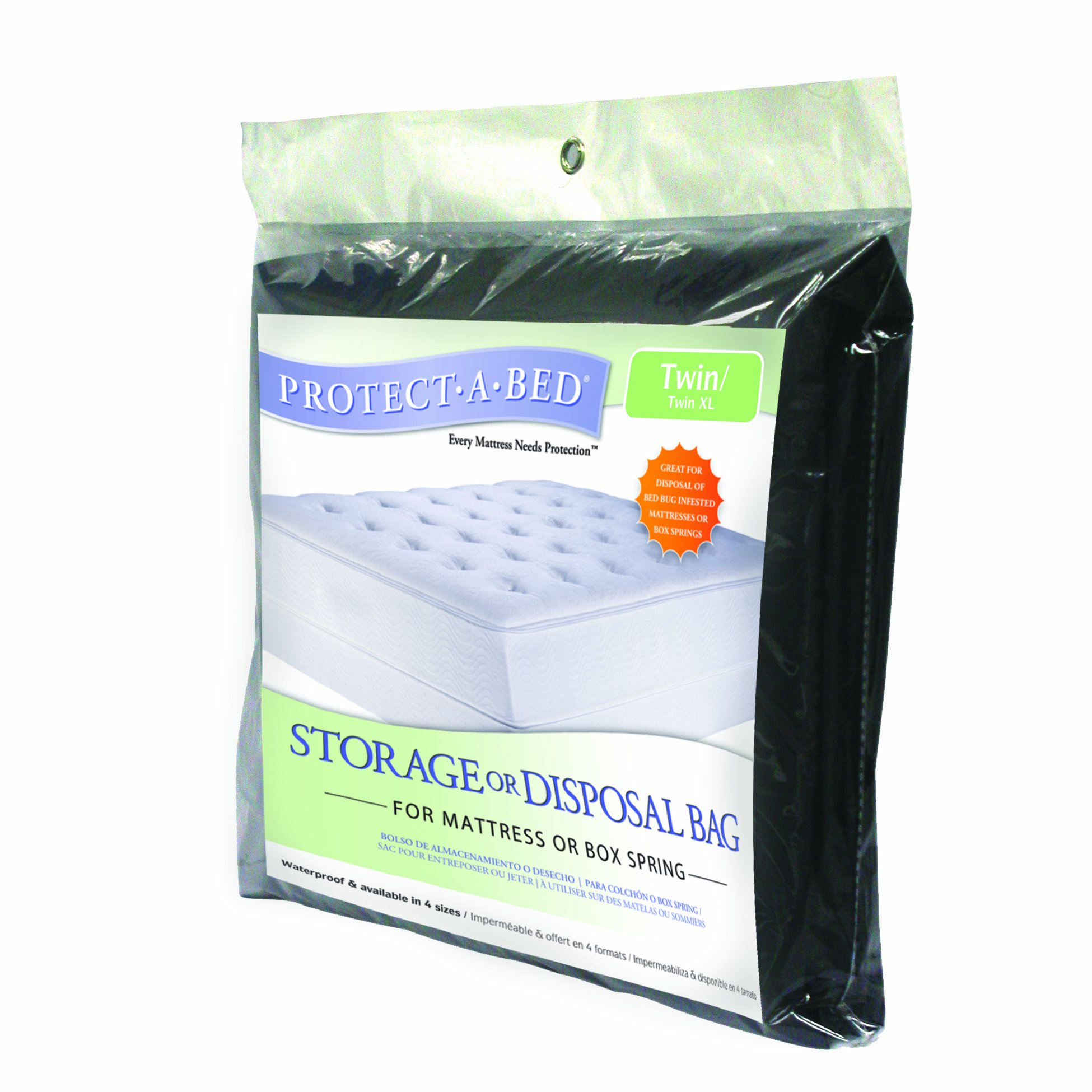 Protect-A-Bed DB001LG Storage or Disposal Bag for Mattress or Box Spring, Twin/Twin X-Long