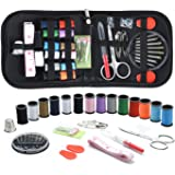 Sewing KIT, DIY Sewing Supplies with Sewing Accessories, Portable Mini Sewing Kit for Beginner, Traveller and Emergency…