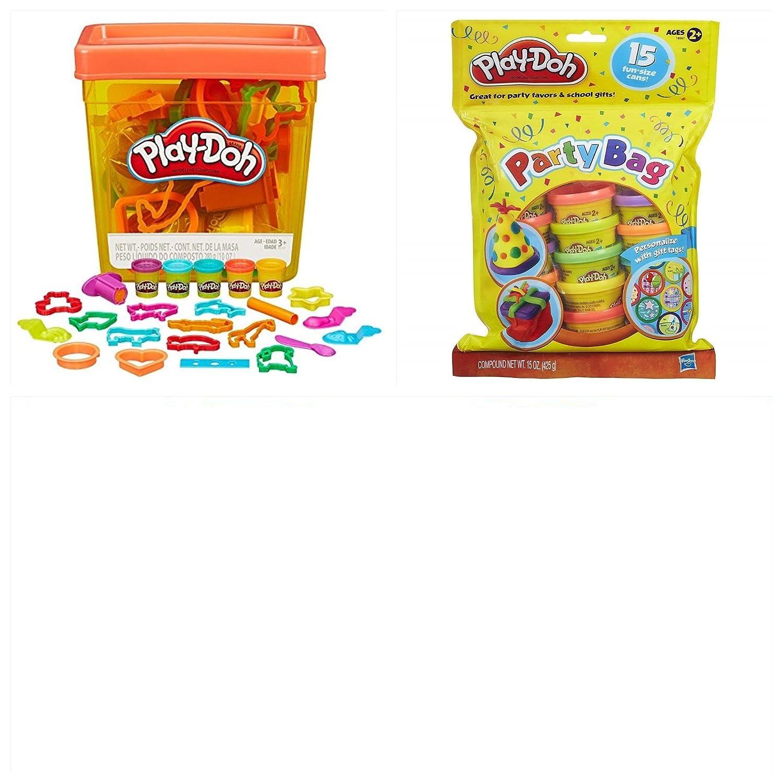 Play-Doh Fun Tub Arts /& Activity 39 Piece Set