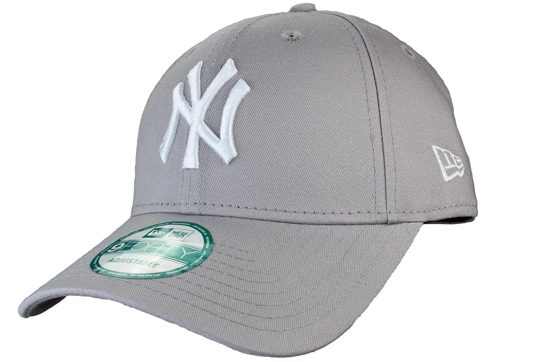 e9ddebe1 New Era 9Forty Adjustable Baseball Cap League Basic New York Yankees in  white, black, grey, red, navy