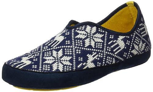 Nordikas Wash, Zapatillas de Estar por casa para Hombre, Azul (Marino), 44 EU: Amazon.es: Zapatos y complementos