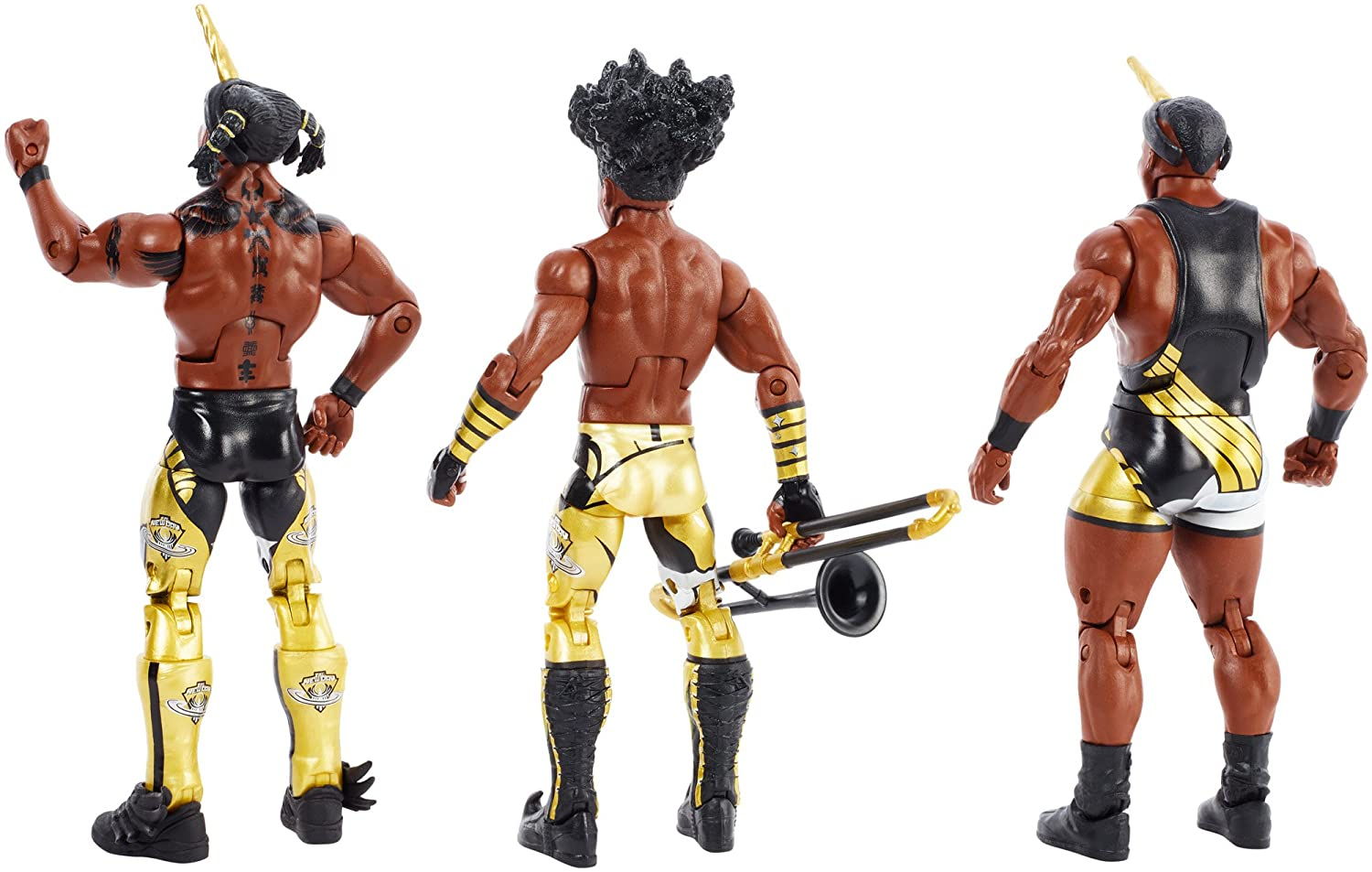 WWE Booty-Os New Day Tag Team Elite Figures Mattel FDX69