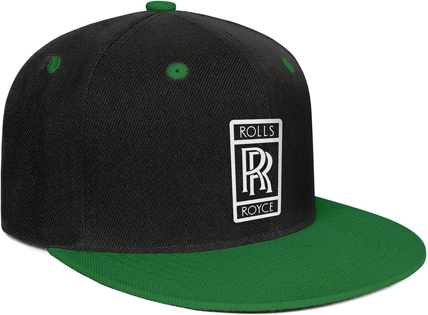 Snapback Printed Hat coolgood All Cotton Trucker Cap Rolls-Royce-Logo