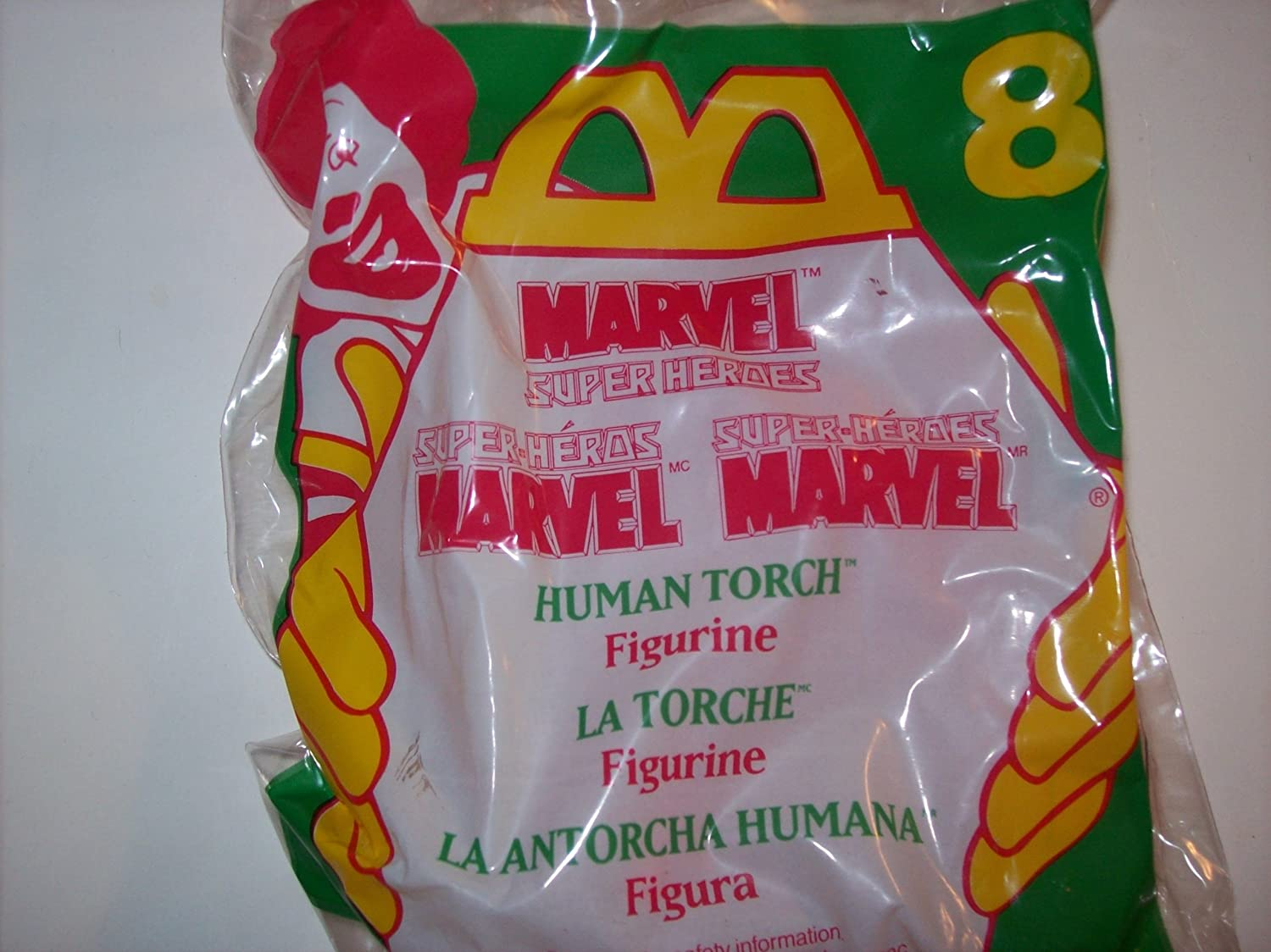 The Human Torch Mcdonalds Toy