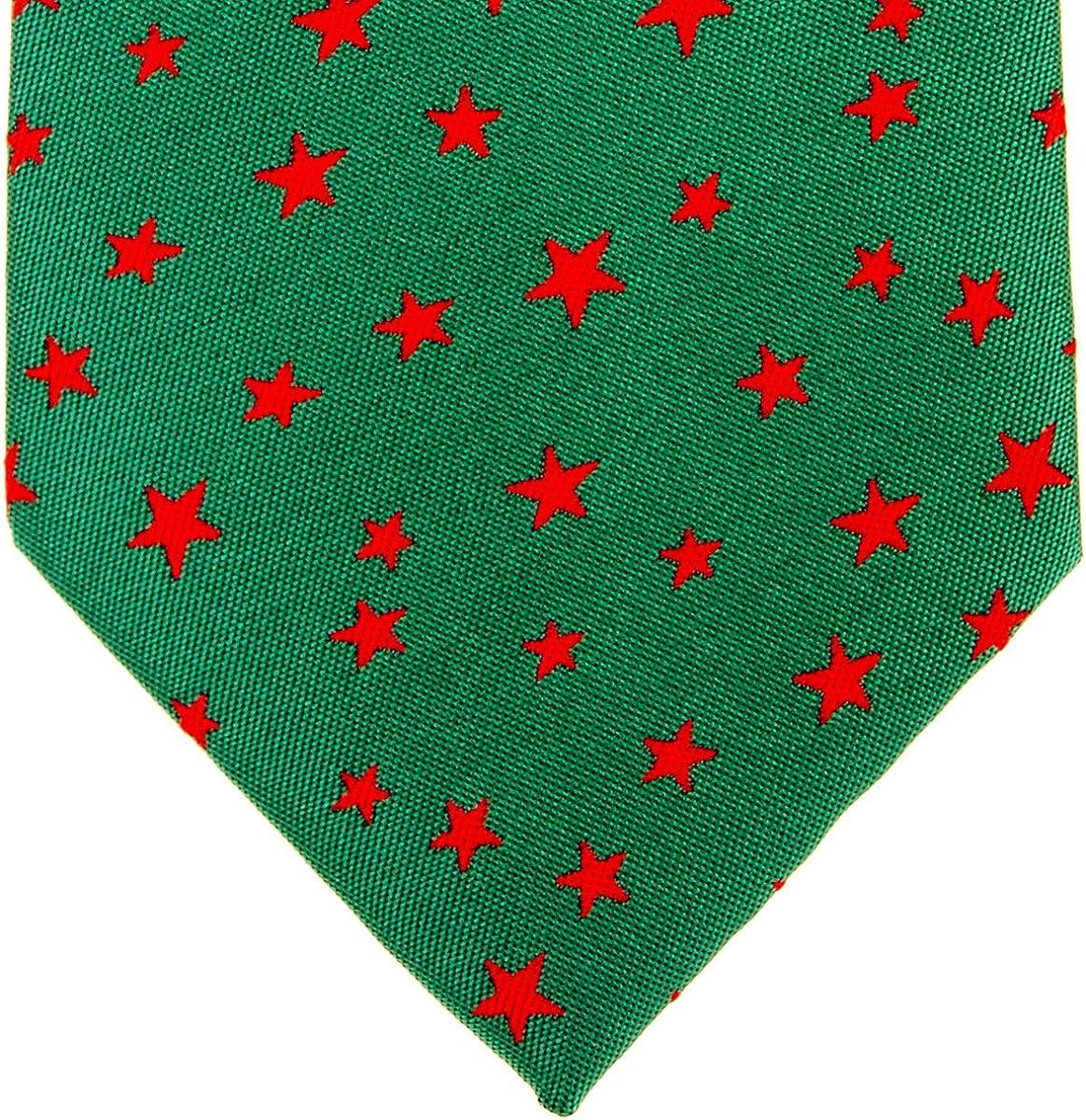 corbata para hombre dise/ño de estrellas tejido de microfibra,/varios colores Retreez