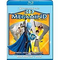 Megamind  3D/DVD Combo [Blu-ray] (Bilingual)