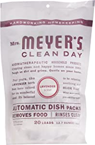 Mrs. Meyer's Automatic Dish Pillow Lavender 20 OZ, 20 CT