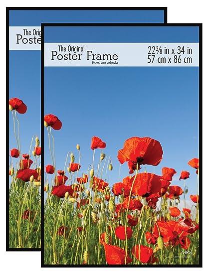 Amazon.com - MCS 22.38x34 Inch (2pk) Original Poster Frame, Black ...