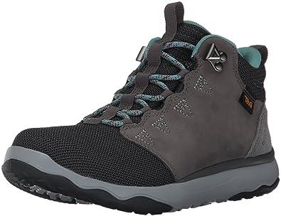 Teva Women's W Arrowood Mid Waterproof Hiking Boot, Charcoal Grey, ...