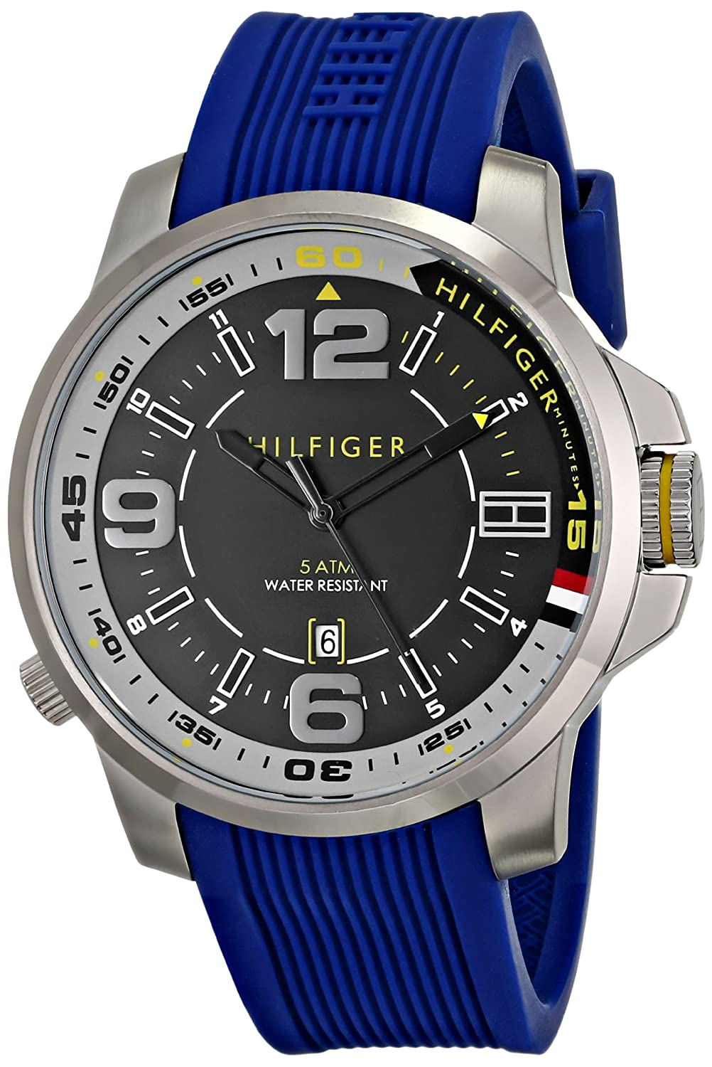 Buy Tommy Hilfiger Men S 1791010 Stainless Steel Watch Online At