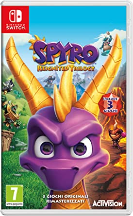 Spyro Trilogy Reignited - Nintendo Switch [Importación italiana ...