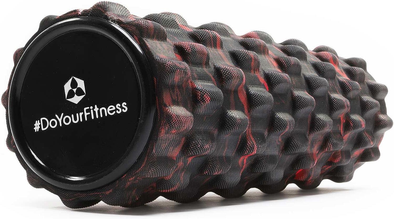 mittelharte Schaumstoffrolle//Massagerolle//Fitnessrolle ideal zum L/ösen von Verspannungen /& Verklebungen des Fasziengewebes #DoYourFitness/® Faszienrolle ca L 34 cm x D 14 cm