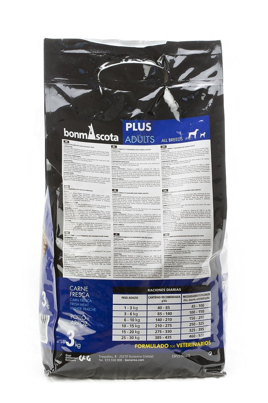 bonmascota Premium trockenfutter Plus adults 3 kg - weizenfreies ...