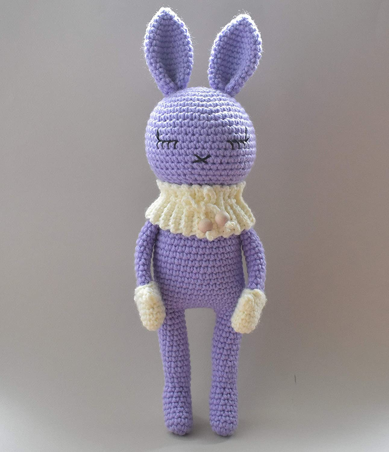 HOW TO CROCHET AN EASTER BUNNY PART 1/ BUNNY HEAD AND ARMS ... | 1500x1291