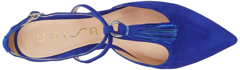 Unisa Damen Damen Damen Tingo_ks Geschlossene Sandalen Blau (Sapphire) fcc639