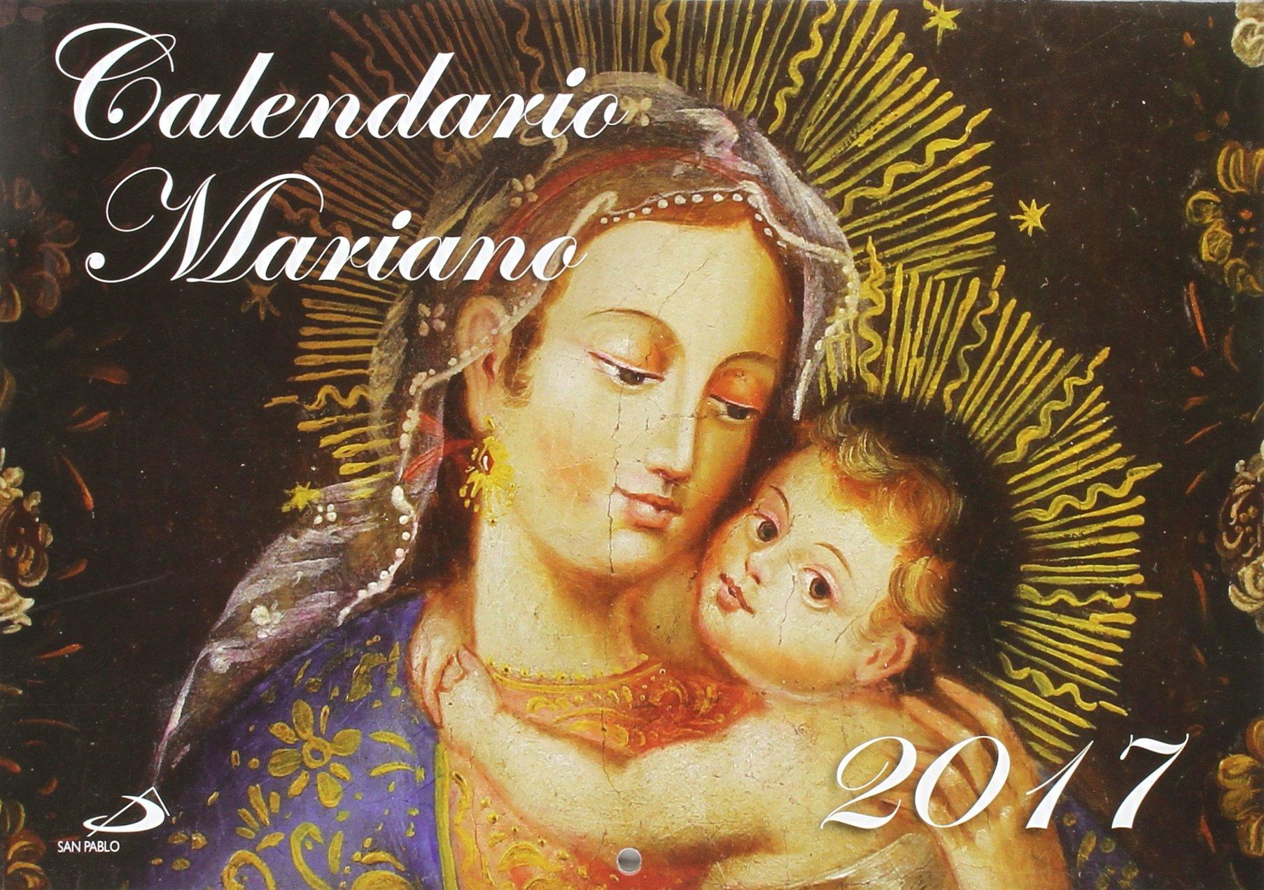 Calendario Mariano.Calendario Mariano 2017 Calendarios Y Agendas Amazon Es