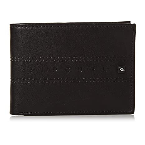 Amazon.com: Rip Curl Word Boss PU Slim Faux Leather Wallet ...