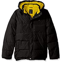 Nautica Boys N8L0003Q Water Resistant Signature Bubble Jacket with Storm Cuffs Down Alternative Coat