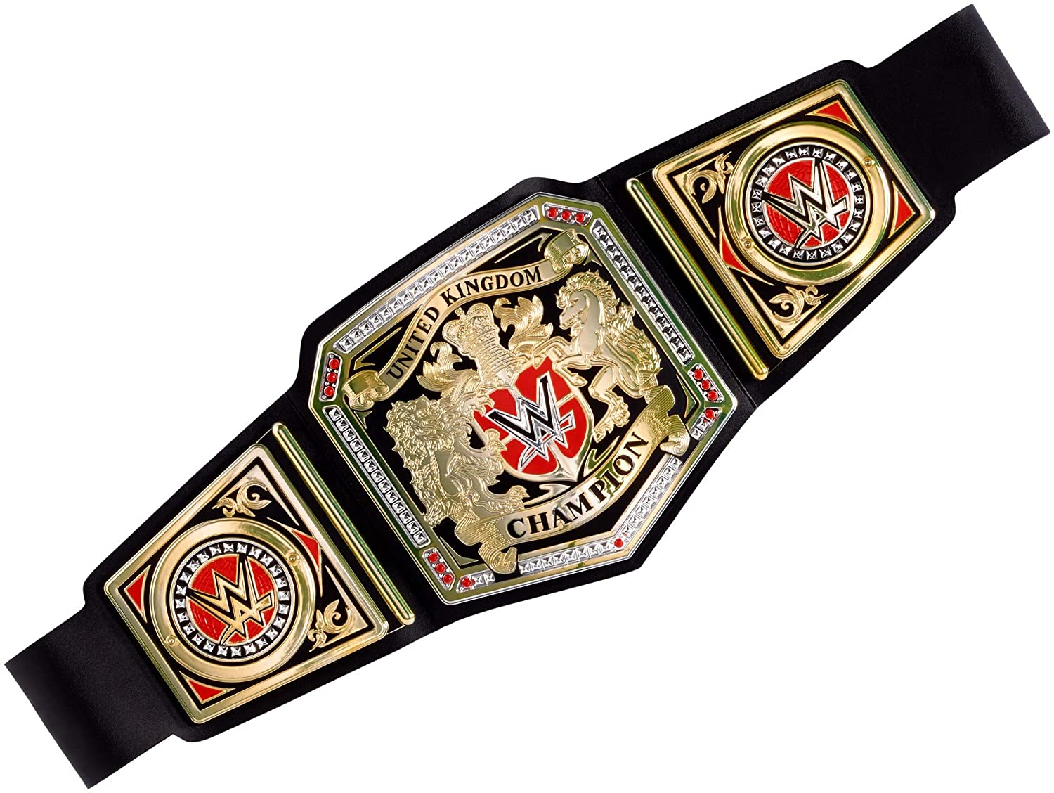 WWE The United Kingdom Championship UK Wrestling World Heavyweight Toy Title Belt - Made By Mattel Accessories Fancy Fress Up Costume Cosplay