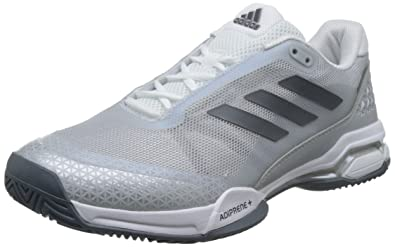 new concept b6362 aca8a adidas Men s Barricade Club Tennis Shoes, Grey (Night Metallic ftwr  White core