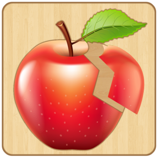 Kids Jigsaw Puzzle - Sweet Fruits, Best free educational puzzle games