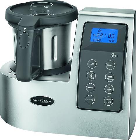 TOP SHOP Profi Cook PC-MKM 1074 Robots de Cocina Acero inoxidable 2.5L 9 velocidad 3 programas automáticos 1300W: Amazon.es