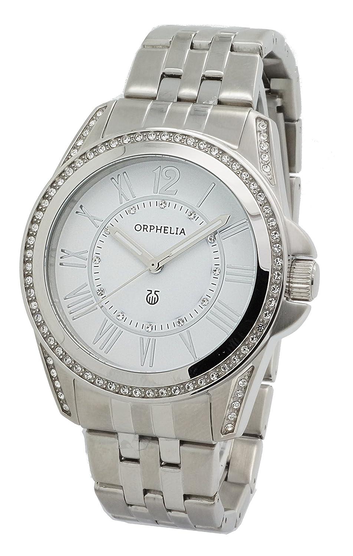 ORPHELIA Damen-Armbanduhr Analog Quarz Edelstahl 155-2703-18