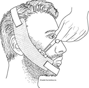 Beard Template | Amazon Com Beard Guide A Flexible And Adjustable Beard Shaping