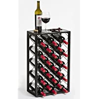 Wine Rack with Glass Table Top…
