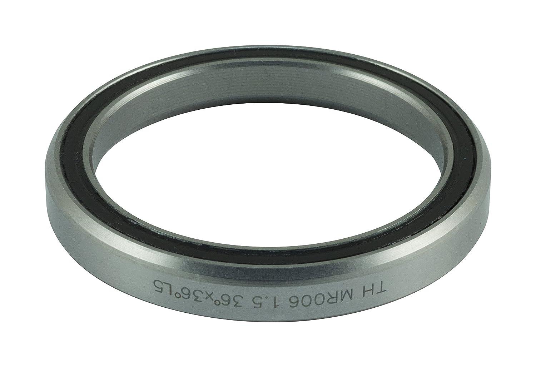 F.S.A. FSA TH-072E - Rodamientos Unisex para Auriculares, Color Plateado, 51,0 mm/36° × 36° 160-0022000000