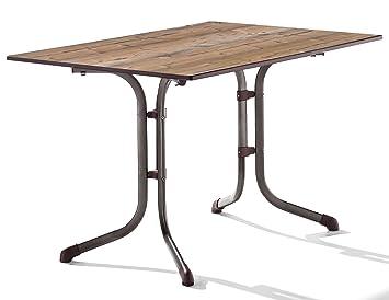 Amazon De Sieger 1160 75 Boulevard Tisch Mit Puroplan Platte 120 X