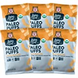 LesserEvil Grain Free Paleo Puffs, Honey Roasted, 5 Ounce, 6 Count