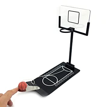 Merveilleux LinkinSport Tabletop Basketball Hoop For Office Foldable Rim (Black)