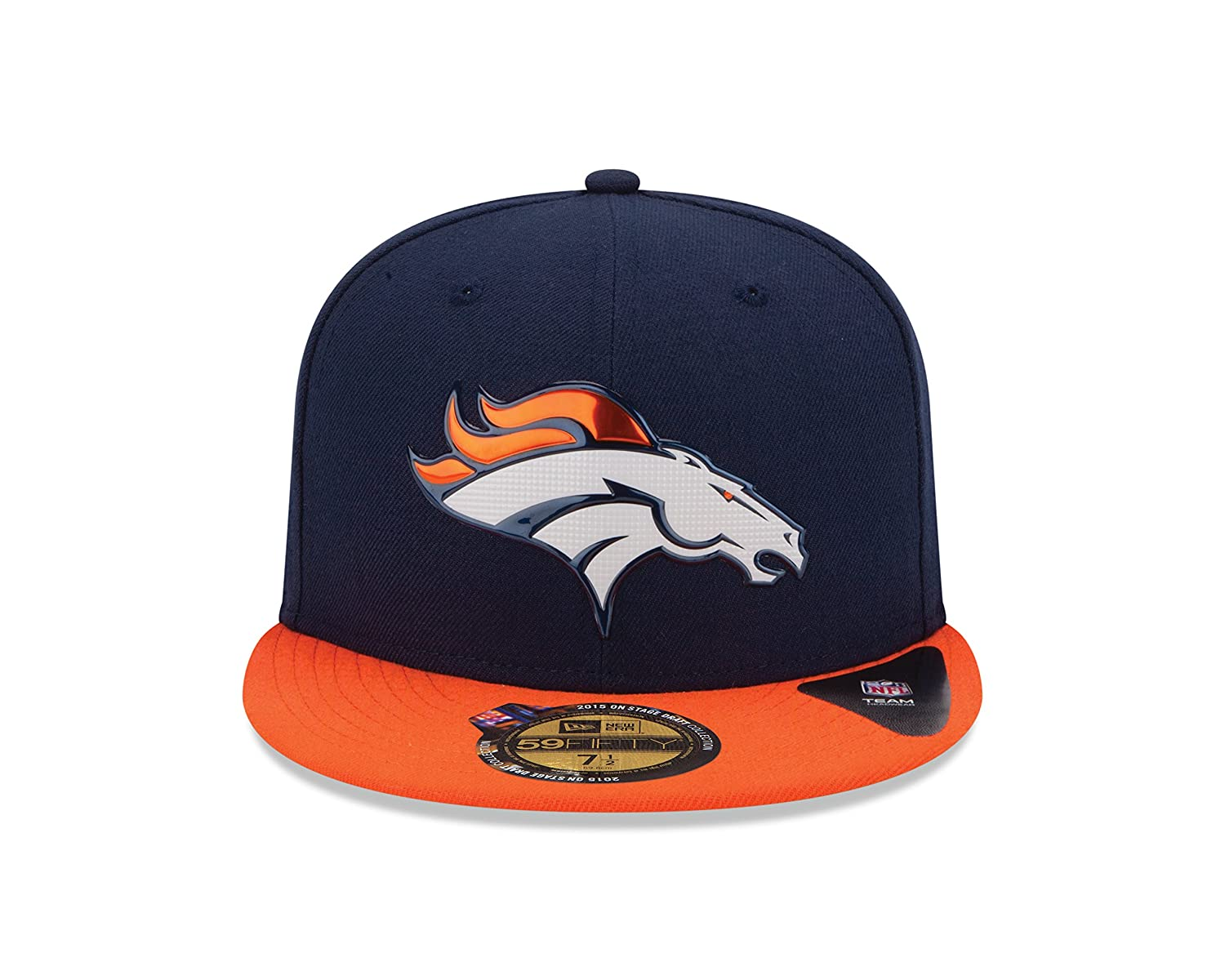 Amazon.com   New Era 2015 NFL Draft On Stage 59Fifty Fitted Cap   Sports    Outdoors 64e9d82f607