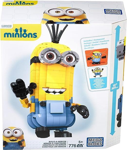 MINIONS - Juego de construcción, Construye tu megaminion (Mattel CNF59): Amazon.es: Juguetes y juegos