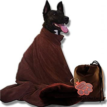 PoochOneZee Dry Fast Dog Bag - Water c2aefb87a