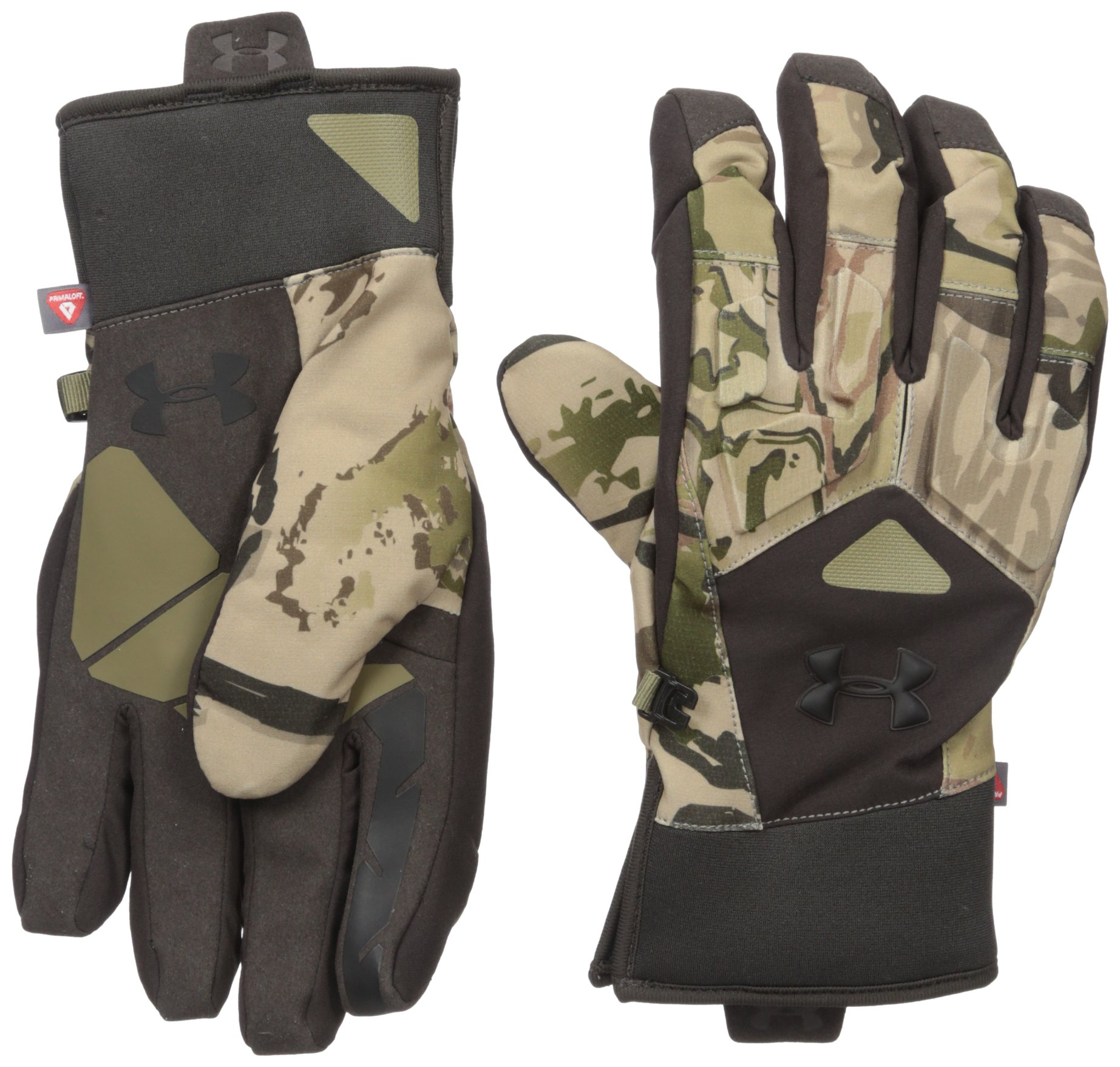 Under Armour Men's Scent Control Primer 2.0 Gloves, Ridge Reaper Camo Ba (901)/Black, Large by Under Armour