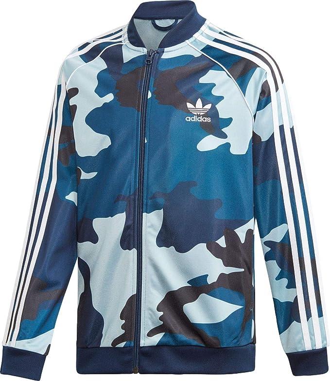 Adidas - Chaqueta de chándal para niños, diseño de Camuflaje ...