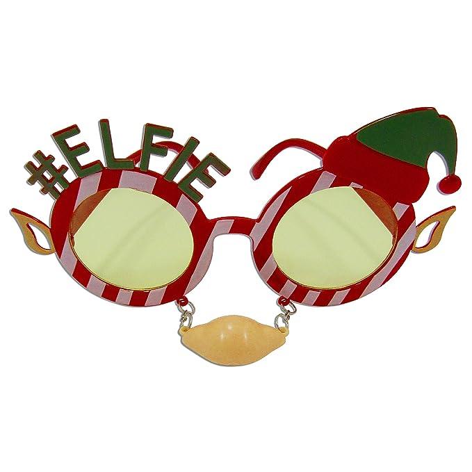 Amazon.com: Gafas de Navidad unisex con diseño de reno para ...