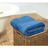 Swiss Republic 100% Cotton Extra Large Bath Towel 180cm X 90cm- Signature Collection 600 GSM. Machine Washable, Oversized Bath Sheet