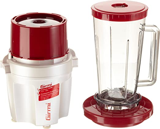 Girmi TR200 - Licuadora (De plástico, Rojo, Color blanco, AC, 50 ...